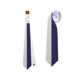 Flag Of Iceland Neckties (One Side)