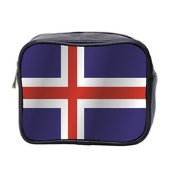 Flag Of Iceland Mini Toiletries Bag 2-Side