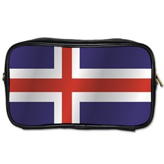 Flag Of Iceland Toiletries Bags
