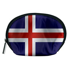Flag Of Iceland Accessory Pouches (Medium)