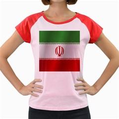 Flag Of Iran Women s Cap Sleeve T-Shirt