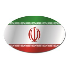 Flag Of Iran Oval Magnet