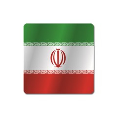Flag Of Iran Square Magnet
