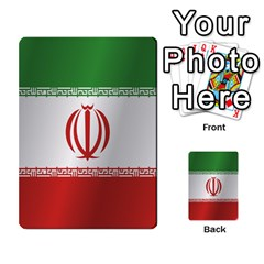 Flag Of Iran Multi-purpose Cards (Rectangle)
