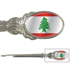 Flag Of Lebanon Letter Openers