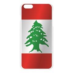 Flag Of Lebanon Apple Seamless iPhone 6 Plus/6S Plus Case (Transparent)