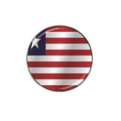 Flag Of Liberia Hat Clip Ball Marker