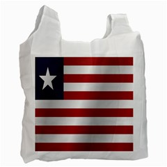 Flag Of Liberia Recycle Bag (Two Side)
