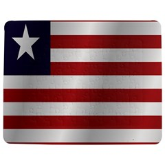 Flag Of Liberia Jigsaw Puzzle Photo Stand (Rectangular)