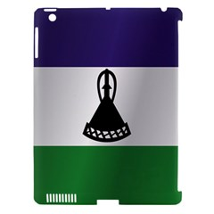 Flag Of Lesotho Apple iPad 3/4 Hardshell Case (Compatible with Smart Cover)