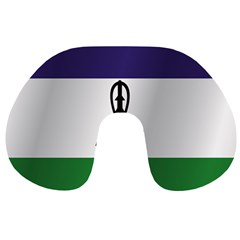 Flag Of Lesotho Travel Neck Pillows