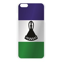 Flag Of Lesotho Apple Seamless iPhone 6 Plus/6S Plus Case (Transparent)