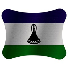 Flag Of Lesotho Jigsaw Puzzle Photo Stand (Bow)