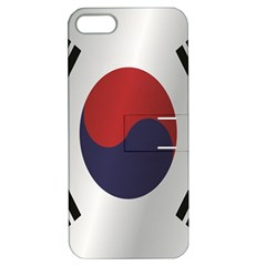 Flag Of South Korea Apple iPhone 5 Hardshell Case with Stand