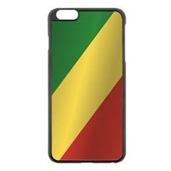 Flag Of Republic Of The Congo Apple iPhone 6 Plus/6S Plus Black Enamel Case