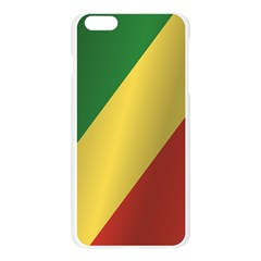 Flag Of Republic Of The Congo Apple Seamless iPhone 6 Plus/6S Plus Case (Transparent)