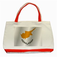 Flag Of Cyprus Classic Tote Bag (Red)