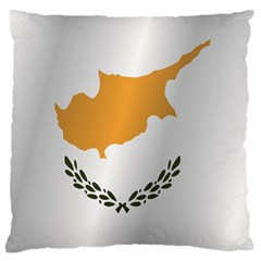 Flag Of Cyprus Large Cushion Case (Two Sides)