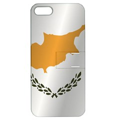 Flag Of Cyprus Apple iPhone 5 Hardshell Case with Stand