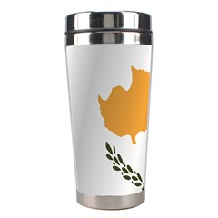 Flag Of Cyprus Stainless Steel Travel Tumblers