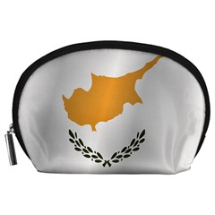 Flag Of Cyprus Accessory Pouches (Large)