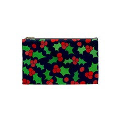 Holly Jolly Christmas Cosmetic Bag (Small)