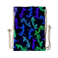 Mermaids Drawstring Bag (Small)