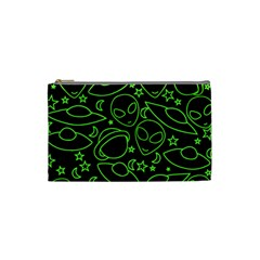 Alien Invasion  Cosmetic Bag (small)