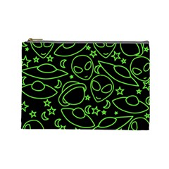 Alien Invasion  Cosmetic Bag (Large)