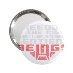 Freedom is the Right GRUNGE 2.25  Handbag Mirrors