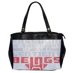 Freedom is the Right GRUNGE Office Handbags