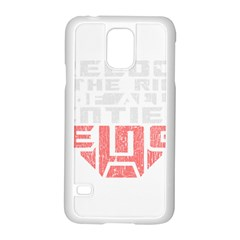 Freedom is the Right GRUNGE Samsung Galaxy S5 Case (White)