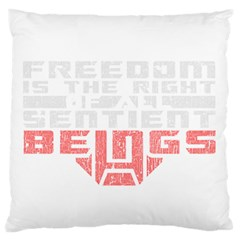 Freedom is the Right GRUNGE Standard Flano Cushion Case (Two Sides)