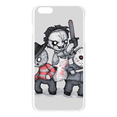 Horror Trifecta Plushie  Apple Seamless iPhone 6 Plus/6S Plus Case (Transparent)