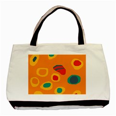 Orange abstraction Basic Tote Bag (Two Sides)