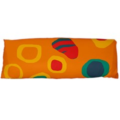 Orange abstraction Body Pillow Case Dakimakura (Two Sides)
