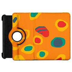 Orange abstraction Kindle Fire HD Flip 360 Case