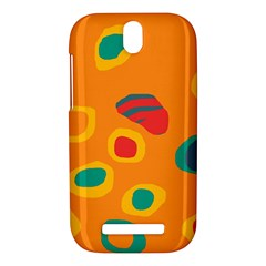 Orange abstraction HTC One SV Hardshell Case