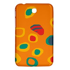 Orange abstraction Samsung Galaxy Tab 3 (7 ) P3200 Hardshell Case