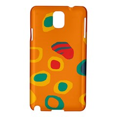 Orange abstraction Samsung Galaxy Note 3 N9005 Hardshell Case