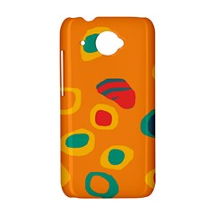 Orange abstraction HTC Desire 601 Hardshell Case