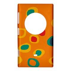 Orange abstraction Nokia Lumia 1020