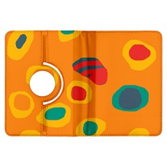 Orange abstraction Kindle Fire HDX Flip 360 Case
