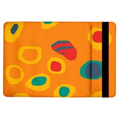 Orange abstraction iPad Air Flip