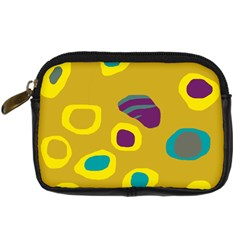 Yellow abstraction Digital Camera Cases