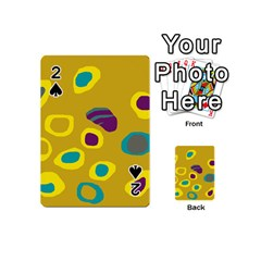 Yellow abstraction Playing Cards 54 (Mini)