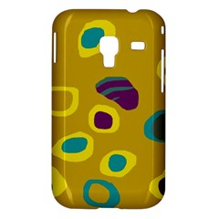 Yellow abstraction Samsung Galaxy Ace Plus S7500 Hardshell Case