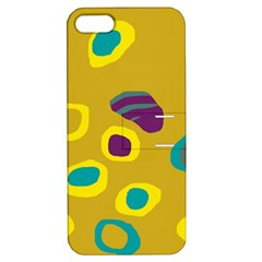 Yellow abstraction Apple iPhone 5 Hardshell Case with Stand