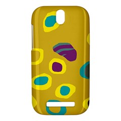 Yellow abstraction HTC One SV Hardshell Case