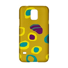Yellow abstraction Samsung Galaxy S5 Hardshell Case